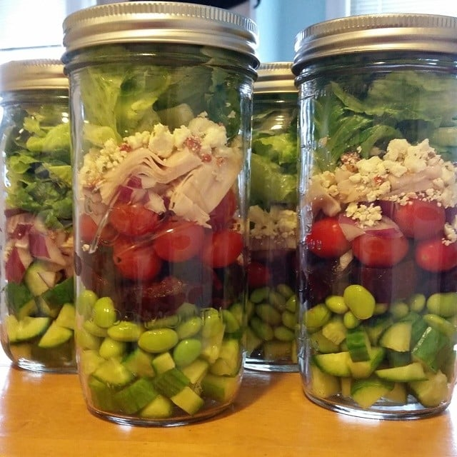 Red-and-Green-Striped Salad