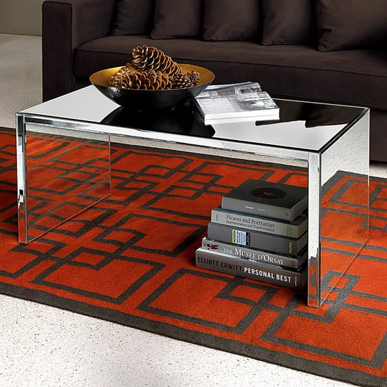 Nice and New: west elm Mirror Coffee Table