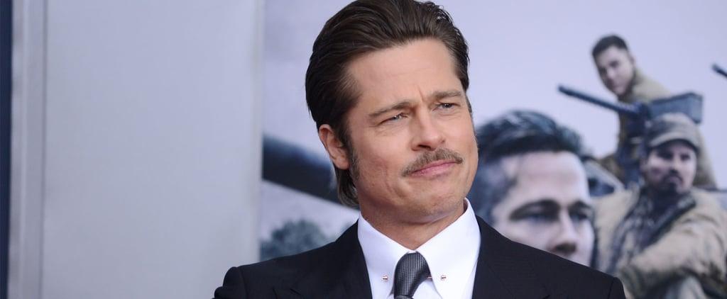 "Brad Pitt on the Job He Doesn't ""Suck"" at Doing"