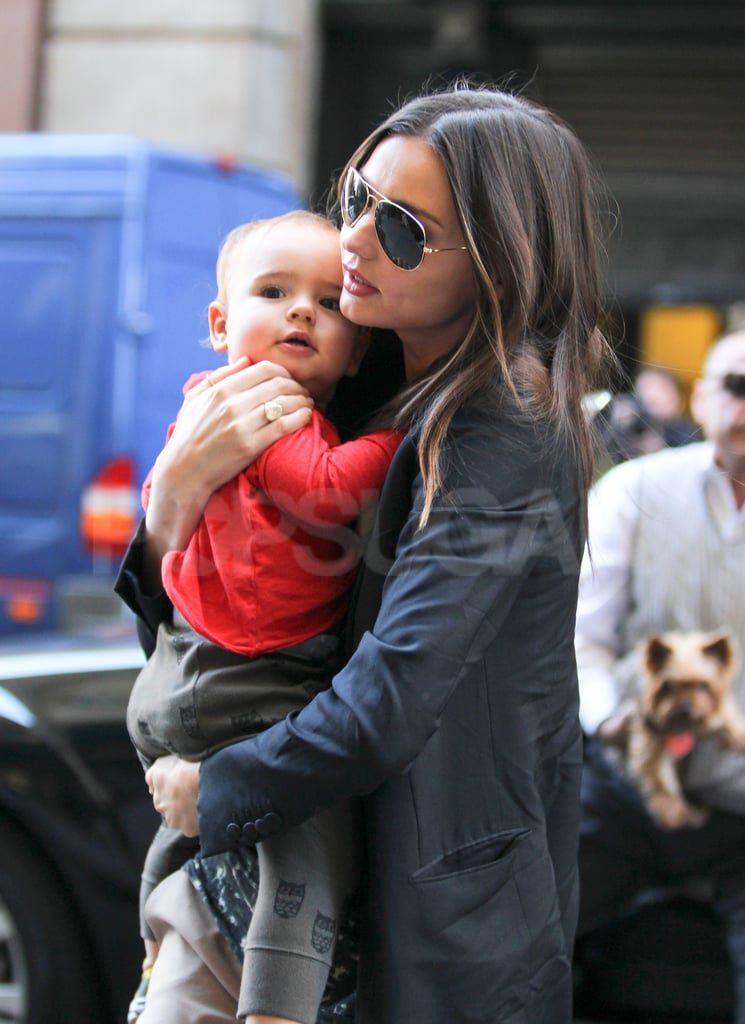 Flynn Bloom explored NYC with Miranda Kerr.