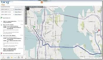 Bing Maps Gets Transit Directions