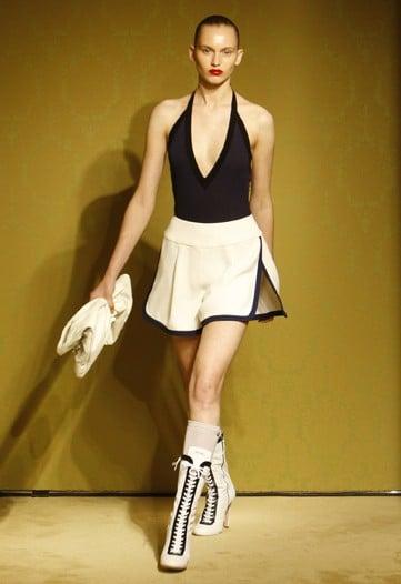 Miuccia Prada Mixes Sportswear with Beachwear for Miu Miu Cruise 2010