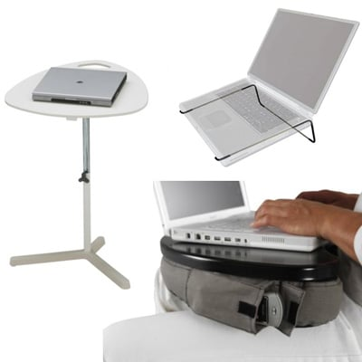 Nonconventional, Yet Handy Laptop Stands