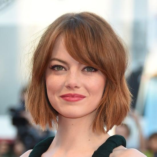Emma Stone's Haircut | Summer 2014