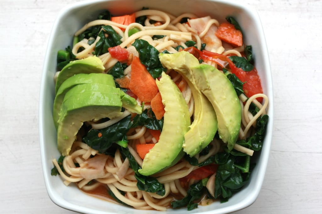 Kamut Udon Noodles With Kale and Avocado Oil