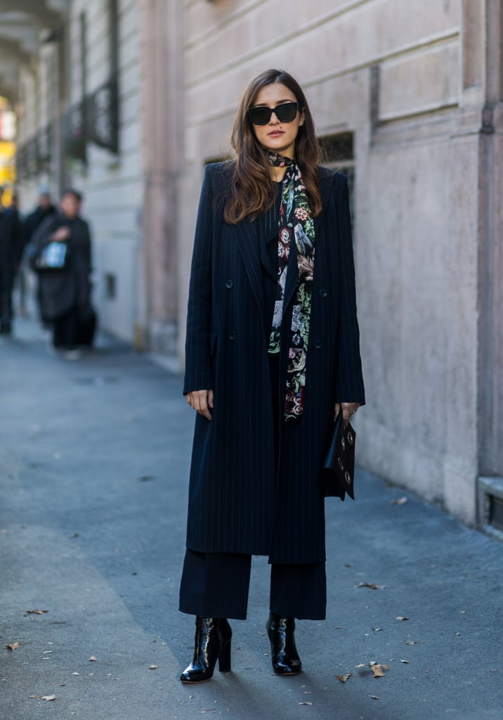 Embrace a cropped pant so you can really show off those Winter boots.