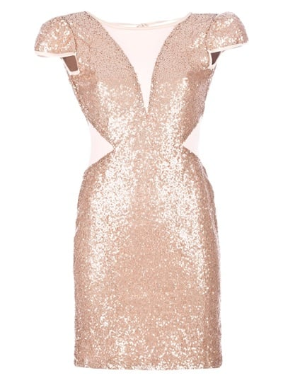 Get ready to turn heads in this Rare London Embellished Dress ($131).