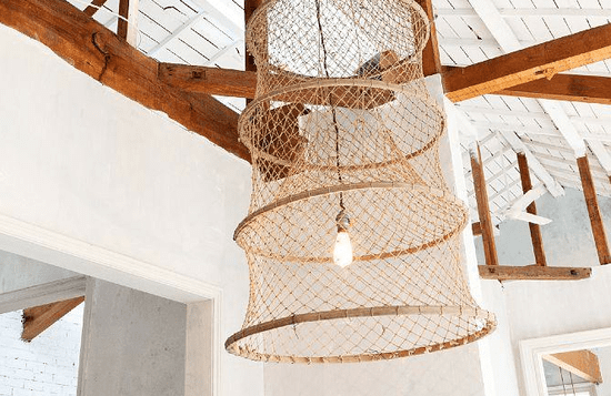 Net Gains: 5 Fishing Baskets as Sculptural Lights