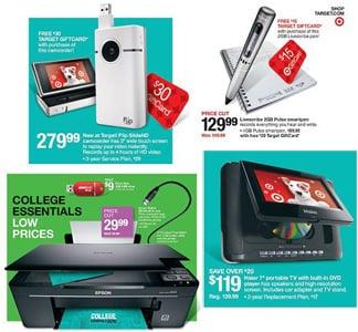 Target Back to School Sales