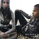 Photos of Jourdan Dunn and Sacha M'Baye in the Burberry Spring Campaign on Brighton Beach