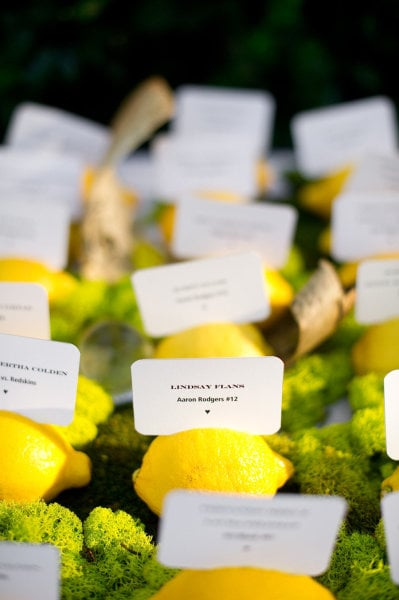 Player-Adorned Escort Cards