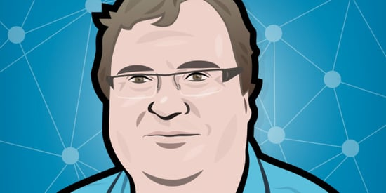 Reid Hoffman talks to us about the magic of PayPal, the dawn of the networked age, and the meaning of life