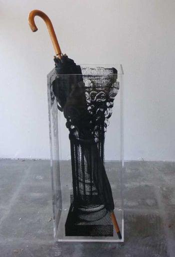 Desire/Acquire: Pillar Umbrella Stand