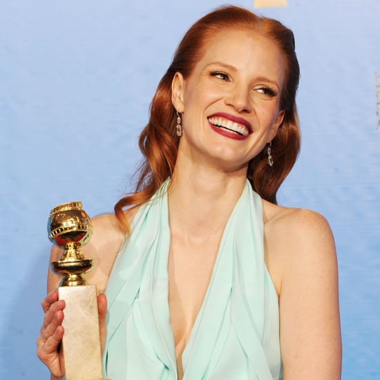 Jessica Chastain Golden Globes Press Room Quotes