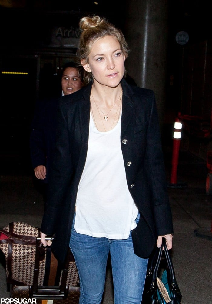 Kate Hudson was out in LA.