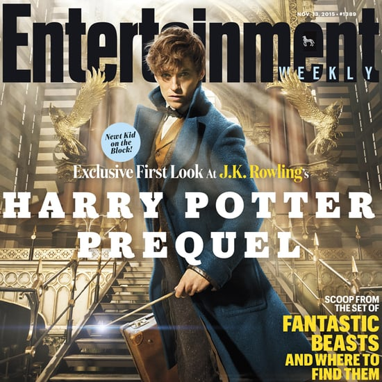 Fantastic Beasts and Where to Find Them EW Cover