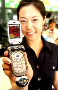 Would You Order Food Via RFID?
