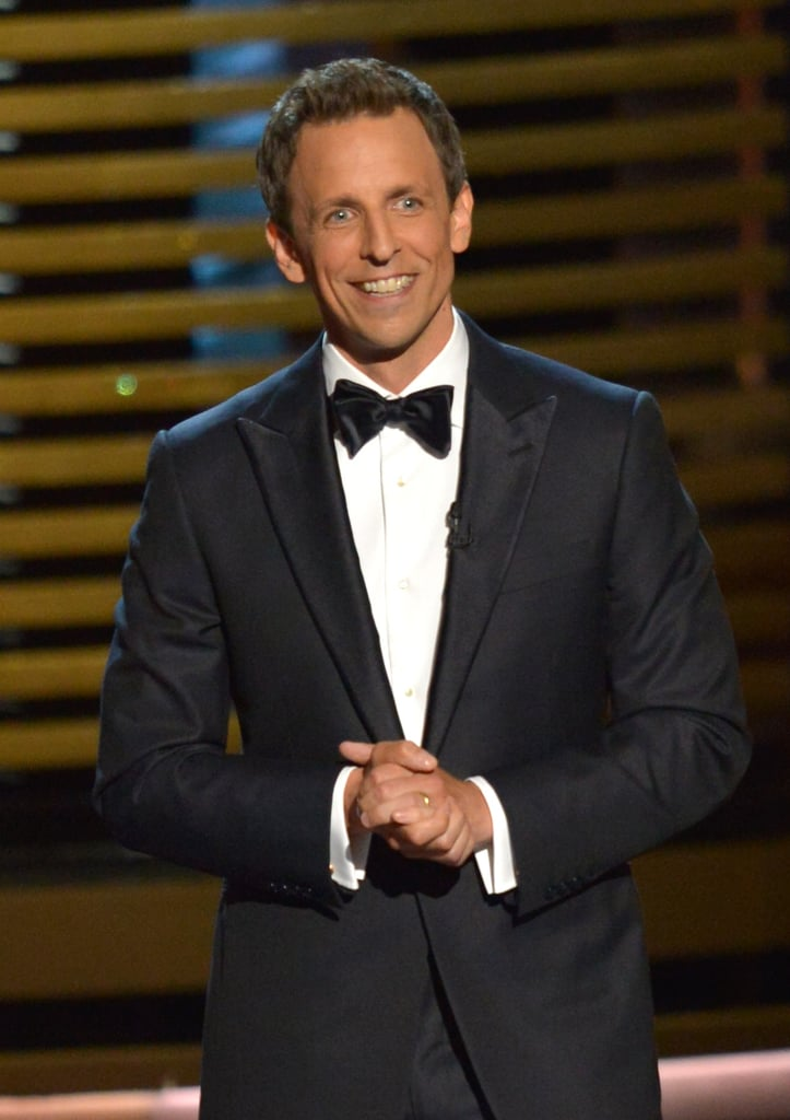 """That's right, kids. Jesse Pinkman lived, Dexter lived, but your mother didn't make it. Goodnight."" — Seth Meyers, on the ending of How I Met Your Mother"