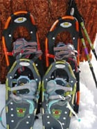 Picking Out Snowshoes