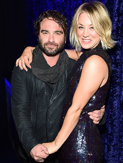 Kaley Cuoco and Johnny Galecki Cuddle Up at People's Choice Awards - But They're '#NotDating'