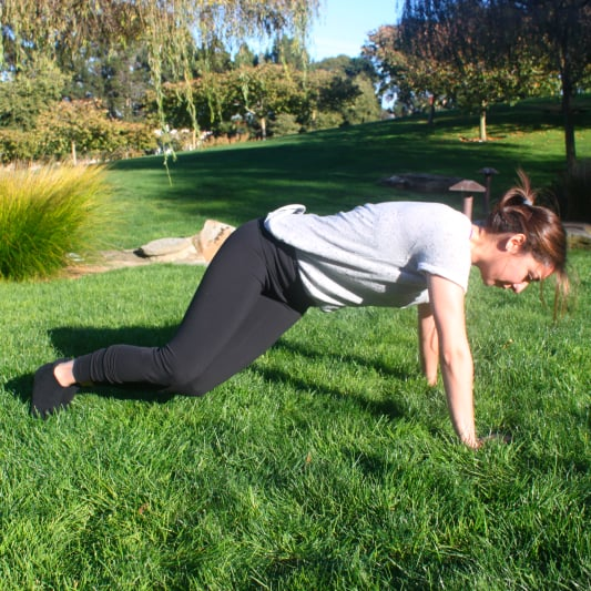 Twisting Plank: Core Exercise