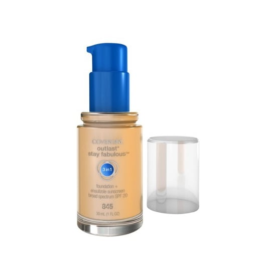 CoverGirl Outlast Stay Fabulous 3-in-1 Foundation ($9) lets you skip primer and concealer steps in your makeup routine. This is a do-it-all product is for the women who want the full coverage.
