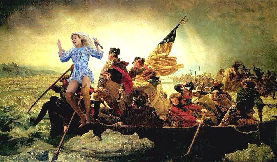 Remember that one time she helped win the Revolutionary War?
