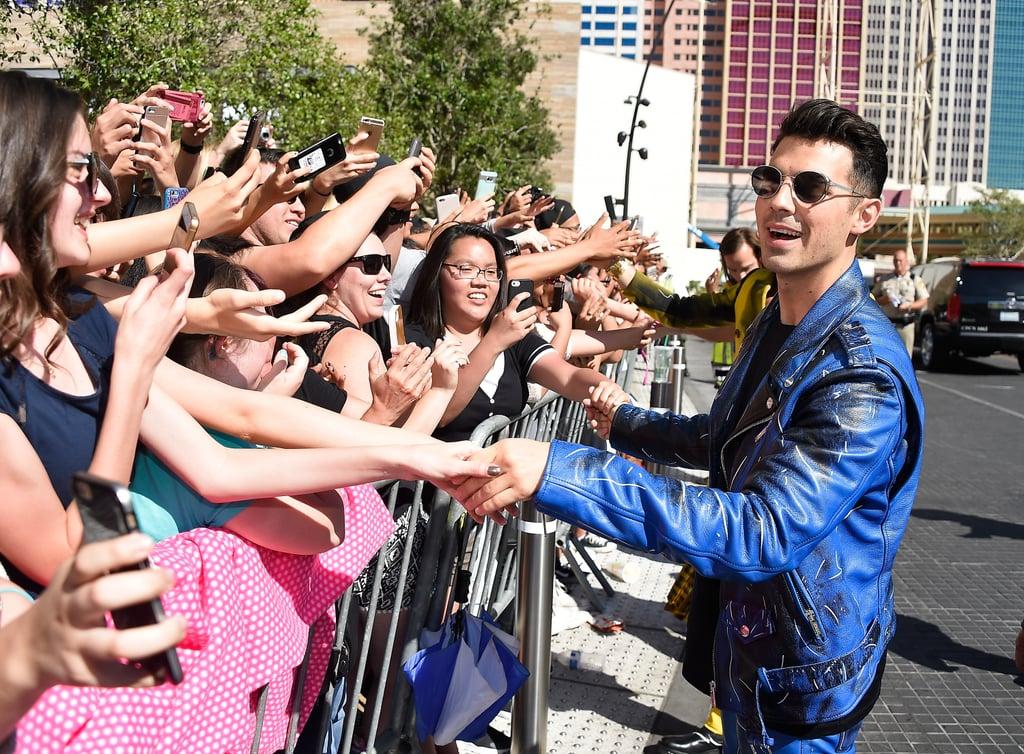 Pictured: Joe Jonas