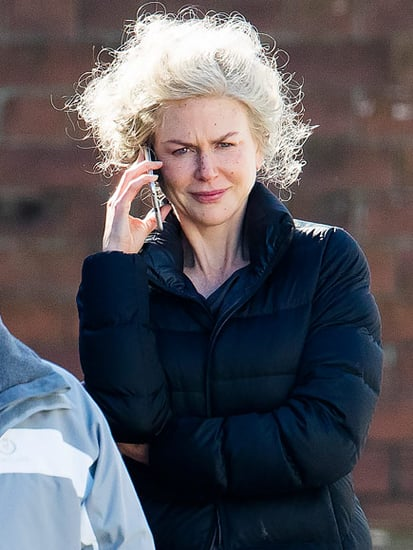 Nicole Kidman Shows Her (Fake) Age on the Set of Top of the Lake