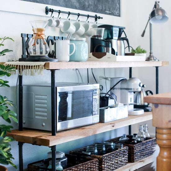 DIY Coffee Bar Station