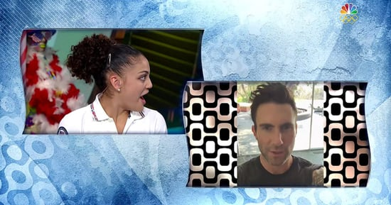 U.S. Gymnast Laurie Hernandez Gets Surprised by Her Favorite 'Voice' Coach Adam Levine