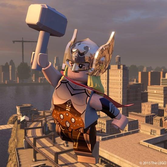 Lego Marvel Avengers Female Superheroes