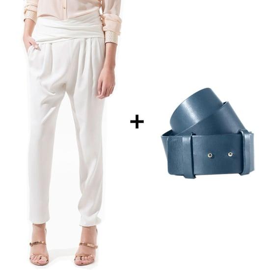 How to Wear Wide Belts