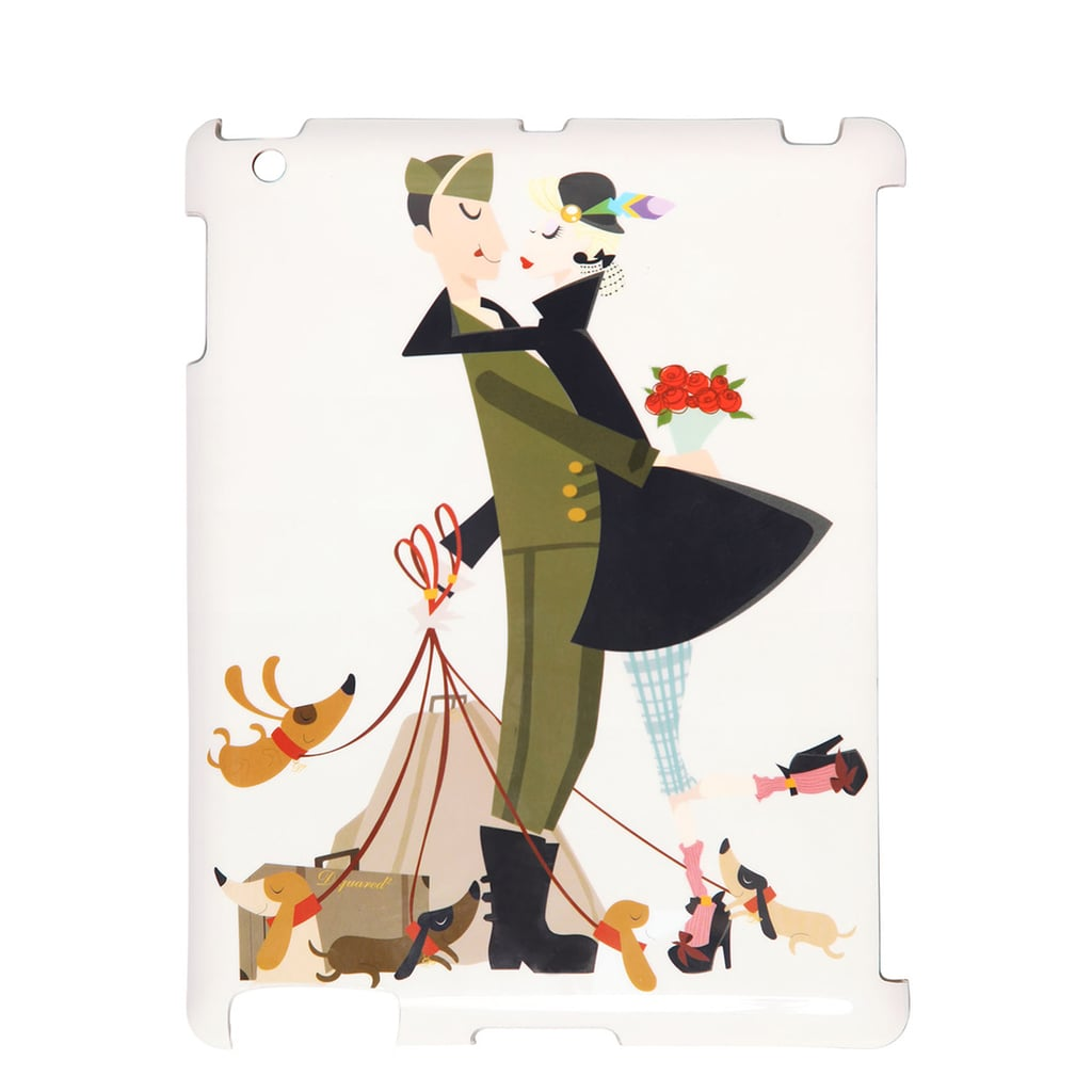 We can't help but smile at the artful cartoon on the back of this DSquared2 iPad case ($95). Even better: it's compatible with Apple's smart covers.