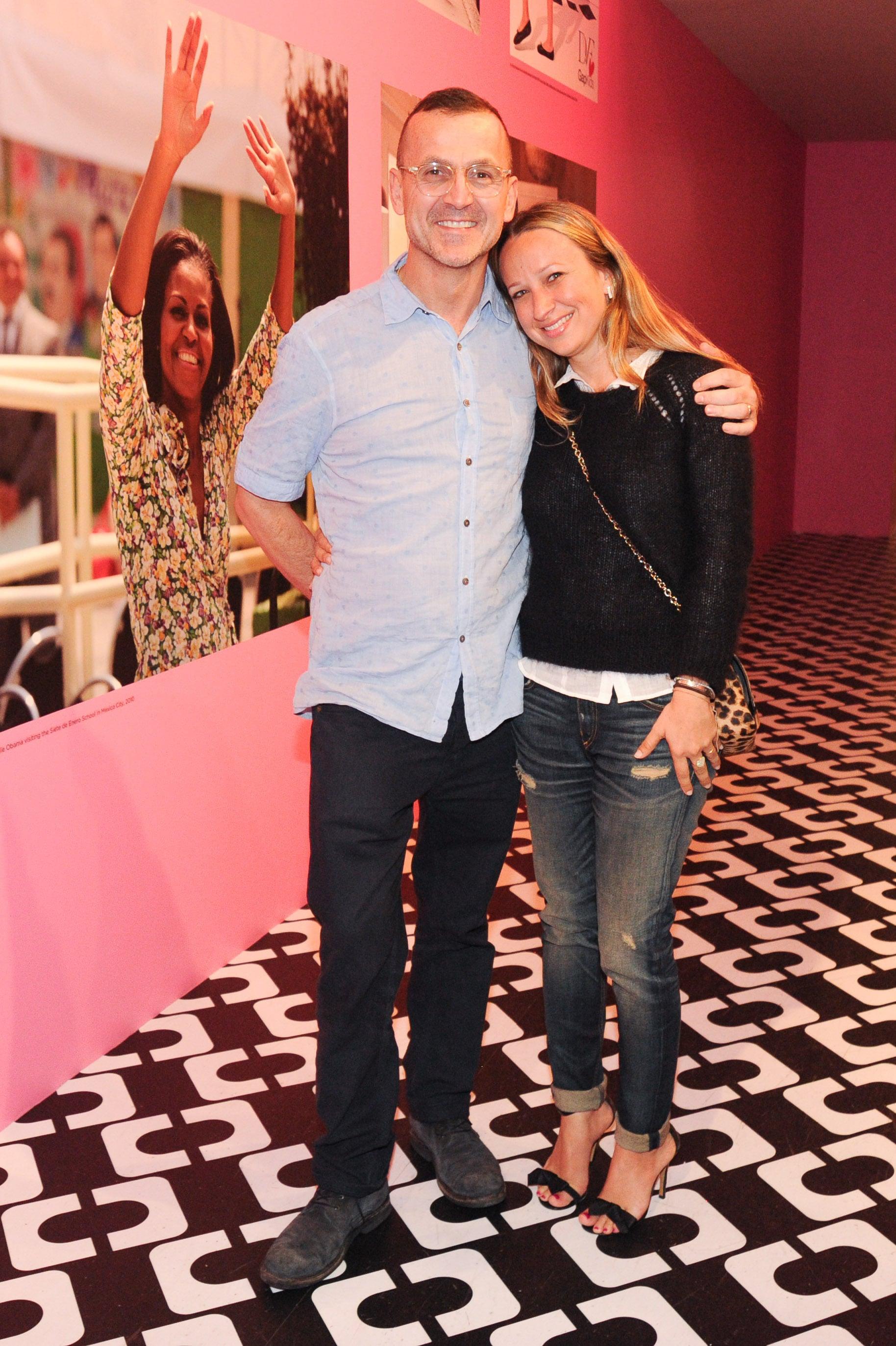 Steven Kolb and Jennifer Meyer