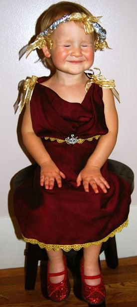A Bridesmaid's Dress Fit for a Princess
