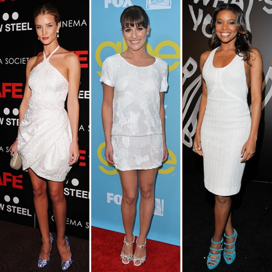Celebs in Little White Dresses — 10 Spring-Perfect Ways to Work Yours