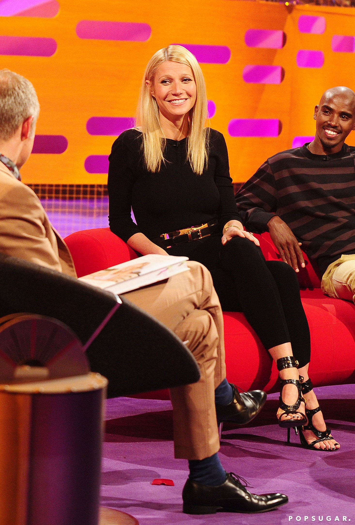 Gwyneth Paltrow chatted with host Graham Norton.