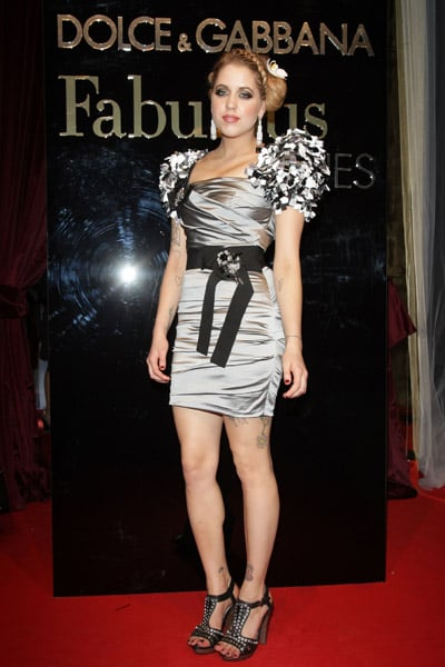 """May 22: Peaches Geldof at Dolce & Gabbana's """"Fabulous in Cannes"""" bash at Le Baoli"""