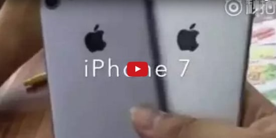 This Might Be The First Video Of The iPhone 7