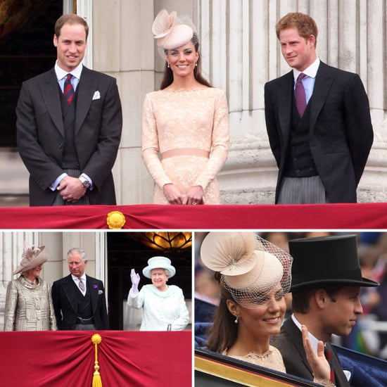 William and Kate Reconnect on the Buckingham Palace Balcony For the Diamond Jubilee