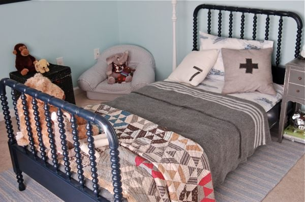 Convey Your Little Girl S Personality Through Her Bedroom: Vintage-Inspired Little Boys Room