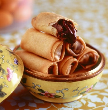Chinese New Year Chocolate Spring Roll Recipe