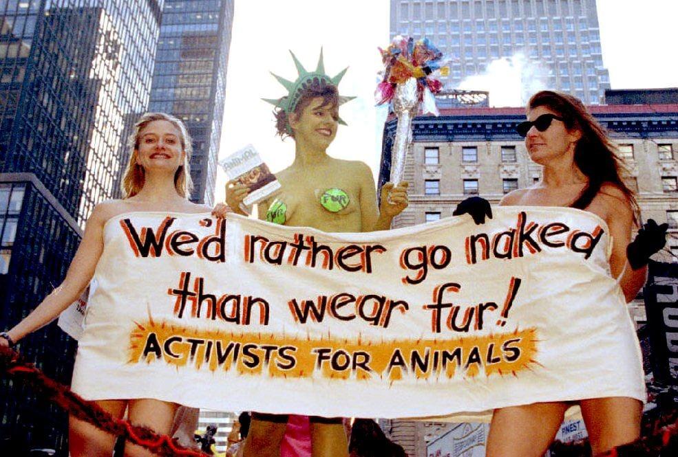 PETA in US, 1993