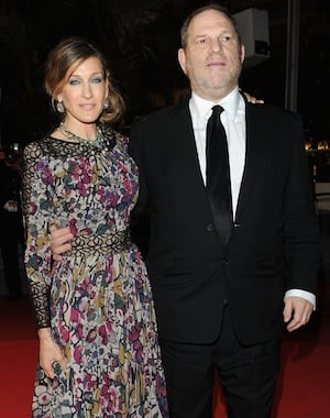 Harvey Weinstein Leaves Halston