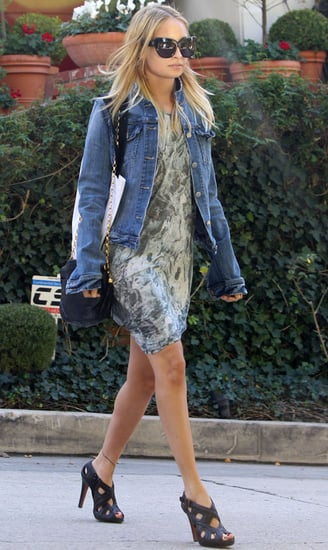 Pictures of Nicole Richie Visiting a Friend in Beverly Hills