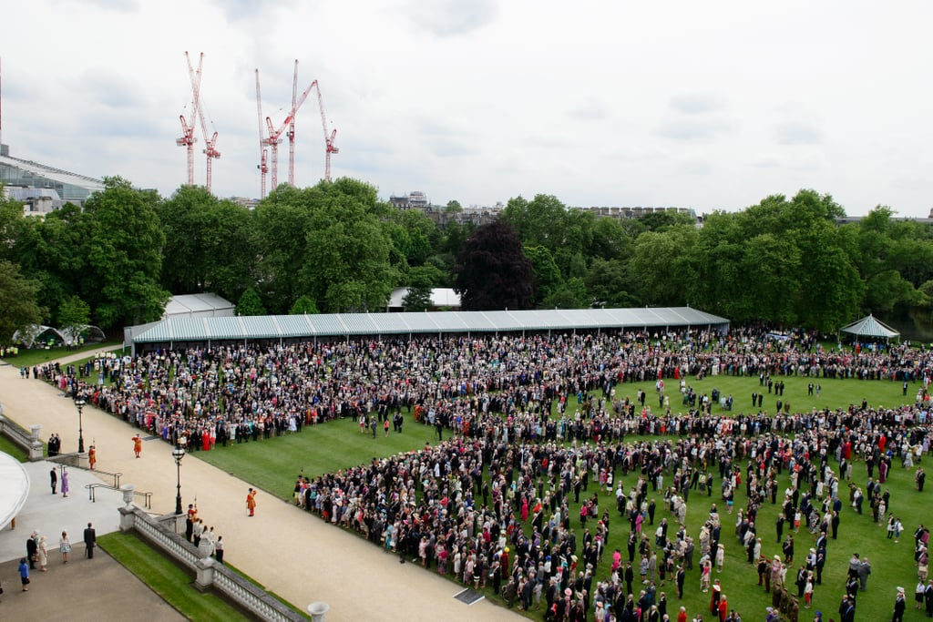 Most: When This Many People Came to Her Garden Party