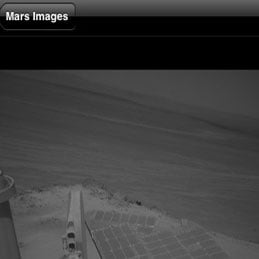 Mars Rover Pictures Phone App