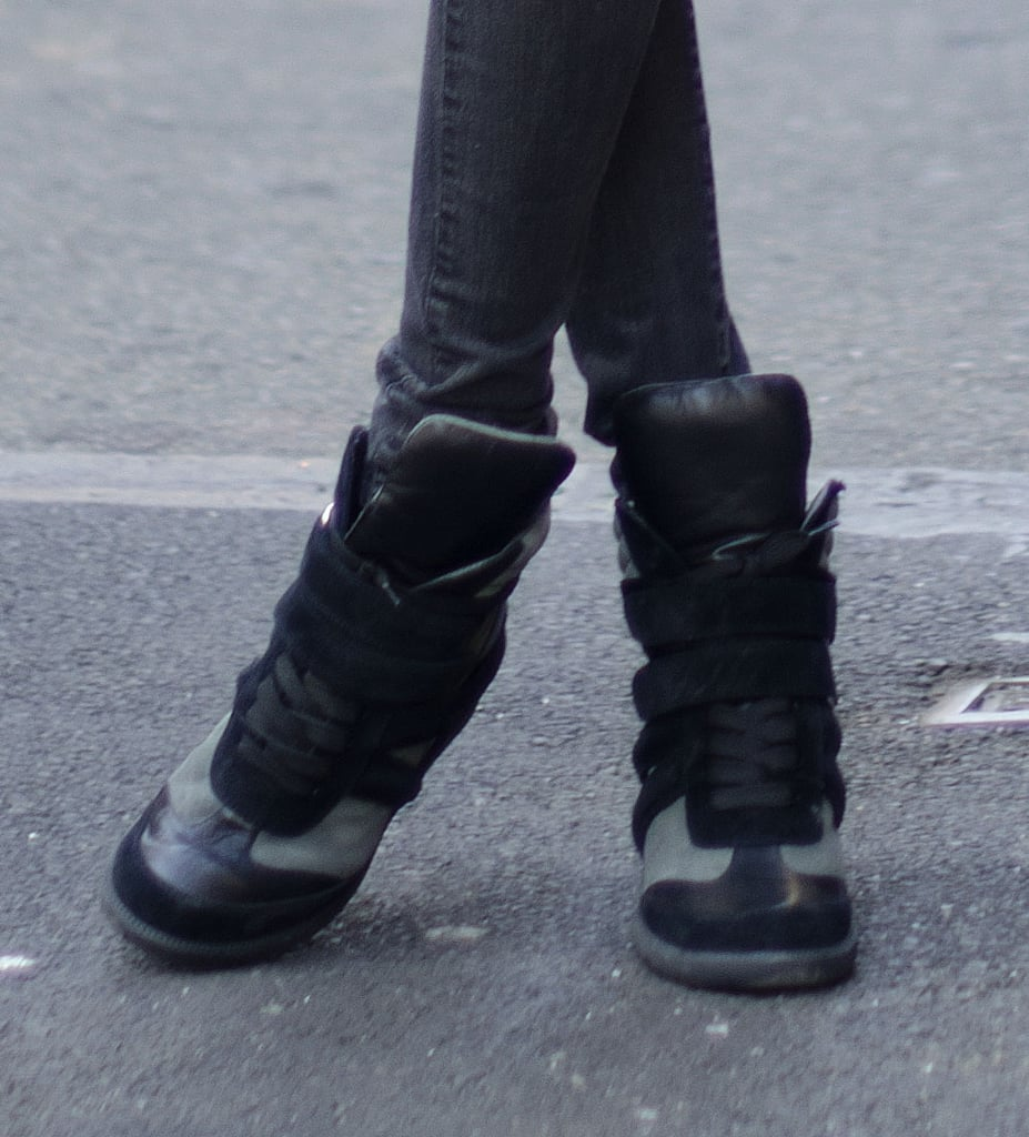 It's always the right time of year to wear a pair of pumped-up high-tops. Source: Adam Katz Sinding