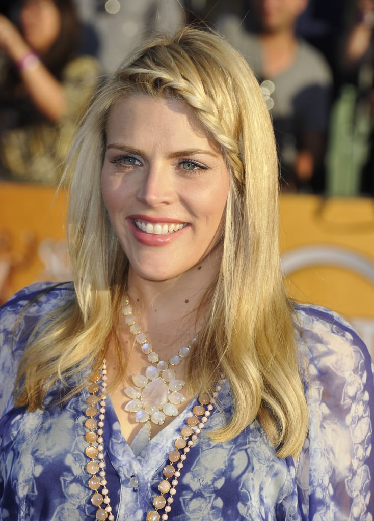 Busy Philipps smiled at the 2012 SAG Awards.